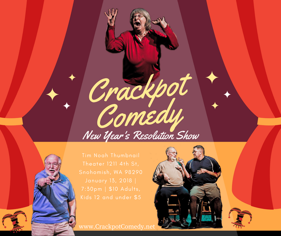Crackpot Comedy January Show