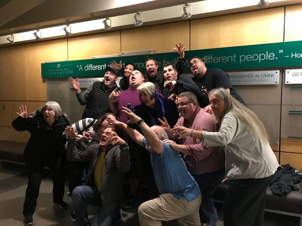 Womb Escape Competition 12-8-17 Group scary