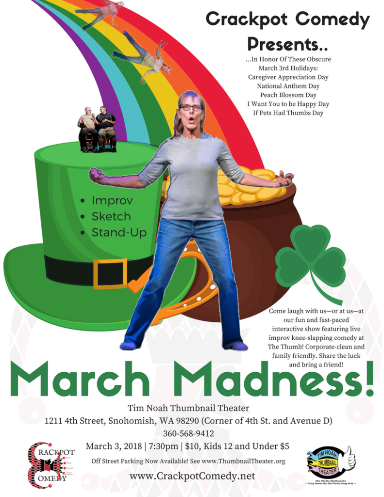 Crackpot Comedy March Madness Show