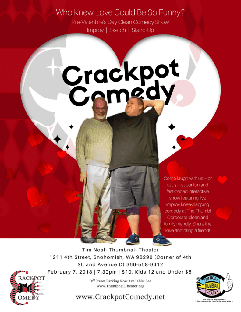 Crackpot Comedy Love Fest Show