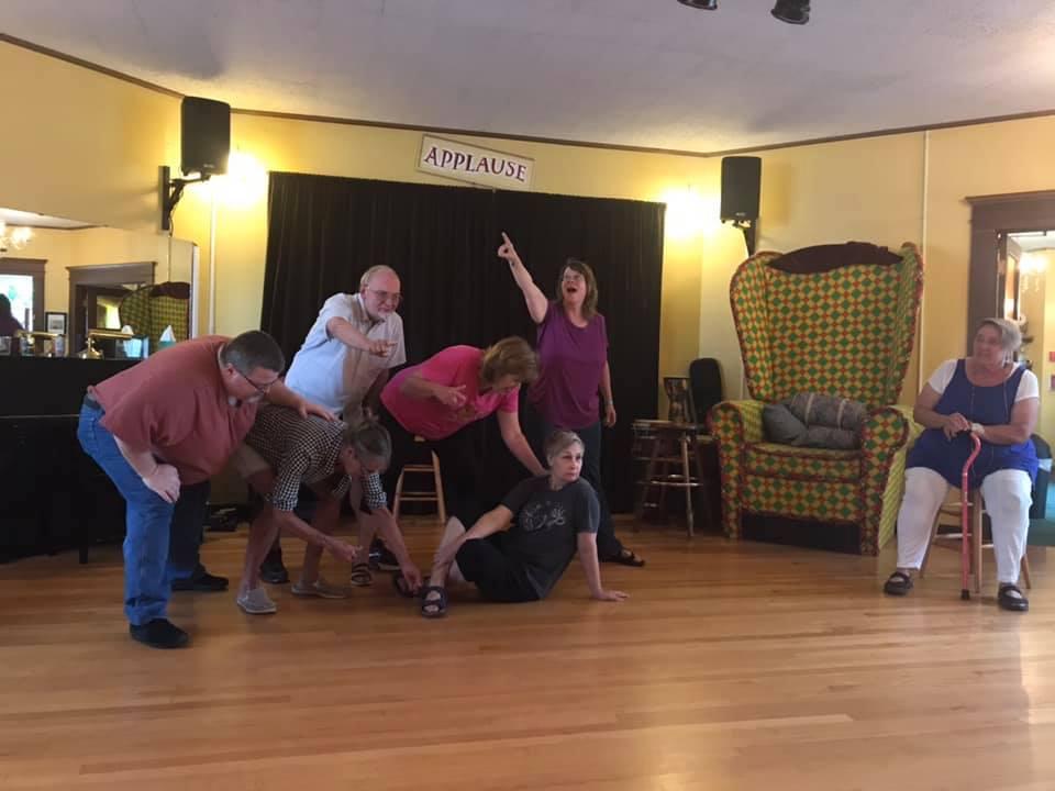 Snohomish Improv rehearsal